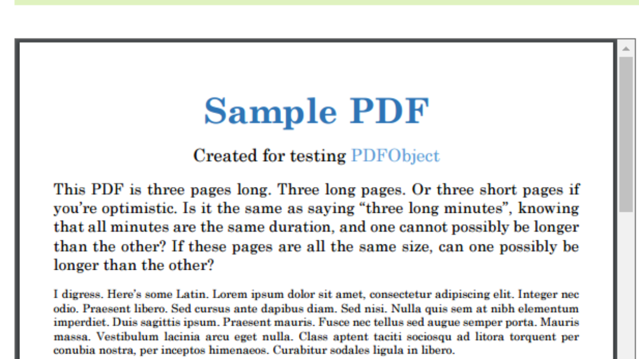 PDF Viewer Example Using Angular 2/4