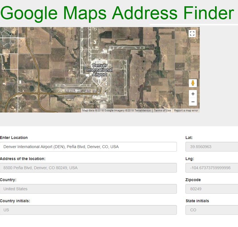 How to Make an Autocomplete Address Fields with Angular Google Maps