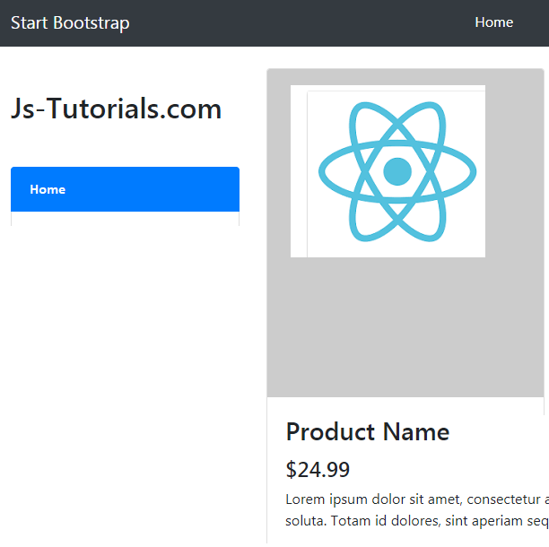 Simple Theming Layout in ReactJS Using Bootstrap